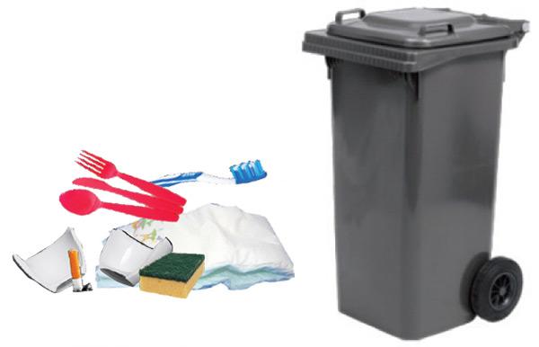 Commercianti secco residuo